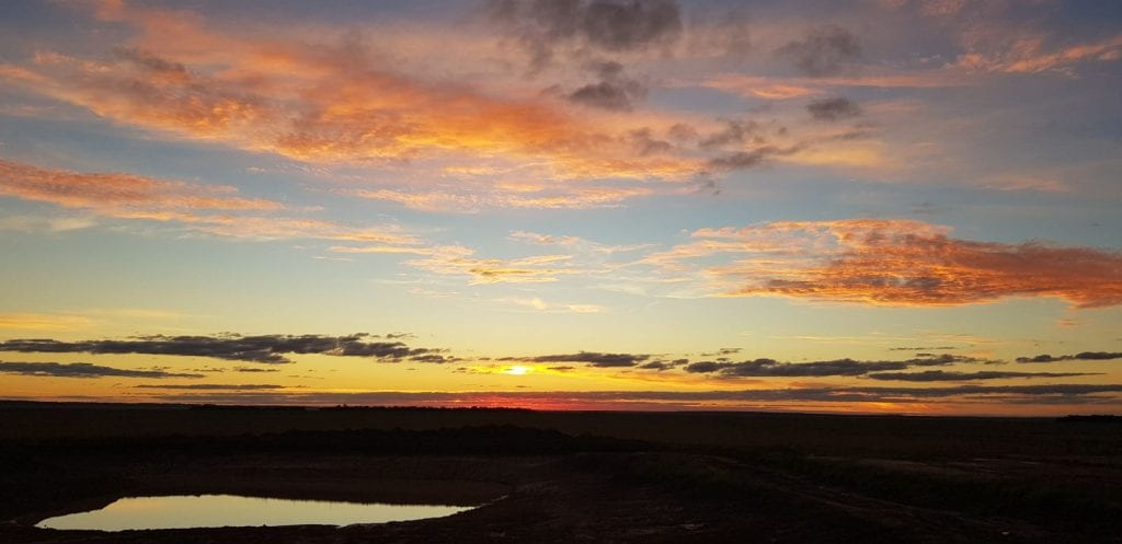 Sonnenuntergang Paraguay